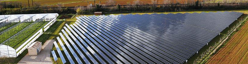 centrale photovoltaïque de Lunel